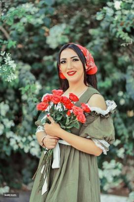 بالفيديو.. اية عبدالله تطرح اغنية معاك لحد الصبحية علي راديو شعبي اف ام
