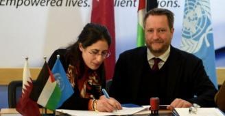 رابط تسجيل .. (UNDP وقطر) توقعان اتفاق شراكة لتشغيل 3 آلاف مواطن بغزة