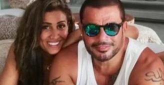 هل هذه الصورة تعني زواج عمرو دياب بدينا الشربيني رسميًا؟