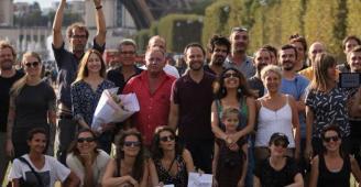 مكسيم خليل يضيء على مأساة اللاجئين إلى أوروبا