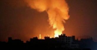 إصابة سبعة مواطنين وتدمير مكتب (هنية) و مقر للأمن الداخلي غرب غزة