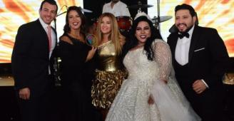 صور ترصد زفاف شيماء سيف ومحمد كارتر