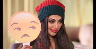 شيلاء سبت تتحدّث الإيرانيّة وسط ضحكات زملائها