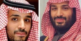 فنانة سعودية تنشر صورة للامير محمد بن سلمان ضمن تحدي العشر سنوات!