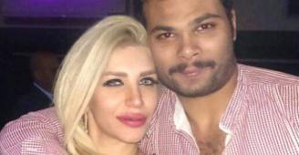 حكم بحبس الممثل أحمد عبدالله لاعتدائه على زوجته ملكة جمال سوريا سارة نخلة