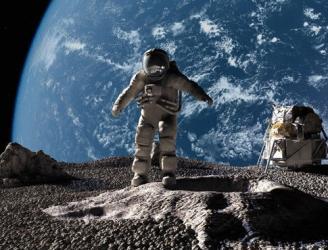 أمريكا تنشئء محطة فضائية جديدة على مدار القمر