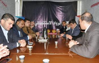 (الحركي المركزي للصحفيين) ينظم عدة زيارات تكريمية لعدد من الإعلاميين في محافظة رفح