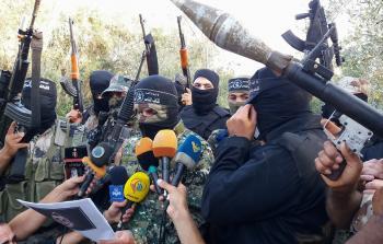 كتائب الناصر تنظم مسير ومؤتمر صحفي وافطار جماعي لمجاهديها في اطار التجهيز والاعداد والتدريب وفي يوم القدس العالمي
