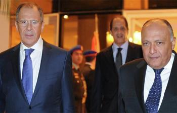 لافروف عقب اجتماعه بــ وزير خارجية مصر: موسكو والقاهرة قلقتان حول الوضع فى غزة