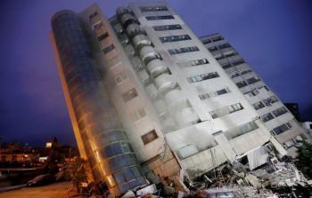 مقتل خمسة وجرح 243 في زلزال ضرب تايوان
