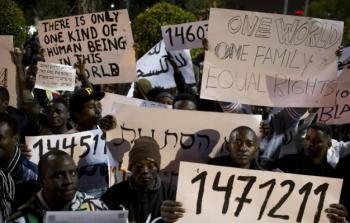 الكنيست: نقاش صاخب حول طرد طالبي اللجوء الأفارقة
