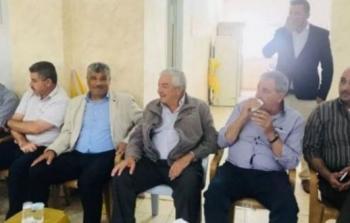 الثوري يعقد اجتماعا على ارض كفر قدوم