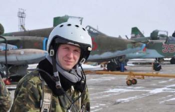 الطيار الروسي يثير غيظ الإرهابيين حيا وميتا!