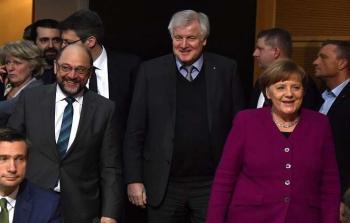 اتفاق مبدئي حول تشكيل حكومة جديدة في ألمانيا