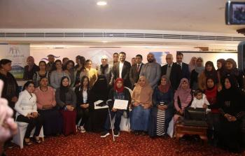 زكية محمد من جمعية مدرسة الامهات تفوز عن فلسطين بجائزة