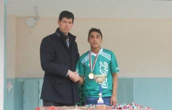 اختتام بطولة القدس عاصمة فلسطين في مدرسة سكا الثانوية