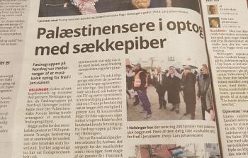مسيرة كشفية لنصرة القدس تجوب شوارع هيلسينيور