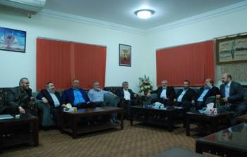 صور: صالح العاروري ينضم إلى وفد حماس في القاهرة