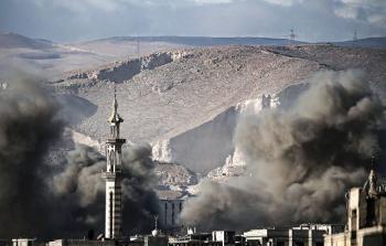 مقتل 28 مدنياً بغارات روسية في الغوطة الشرقية