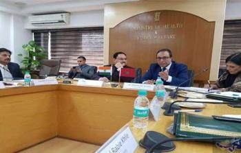 عمارة يؤكد أن المغرب يتطلع إلى تعزيز سبل التعاون مع الهند في القطاع الصحي