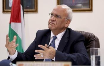 عريقات مخاطباً حماس: يد الرئيس ممدودة لتنفيذ اتفاق 2017