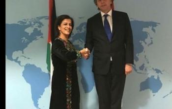 السفيرة سليمان تشارك في حفل محكمة العدل الدولية