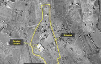 قاعدة عسكرية إيرانية بسوريا قادرة على ضرب كل إسرائيل.. صور أقمار صناعية كشفت بناءها قرب دمشق