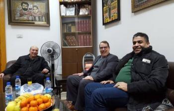 الجبهة الشعبية تستقبل السفير الكوبي في دمشق