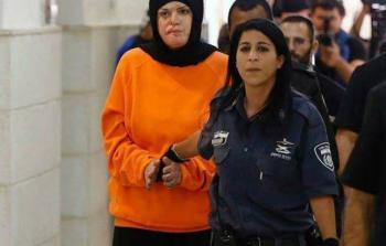 """""""الإعلام"""": الأسيرة جعابيص شاهدة على إرهاب الاحتلال"""