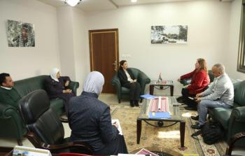 رئيس الاحصاء الفلسطيني يستقبل مدير مكتب الأمم المتحدة لتنسيق الشؤون الإنسانية في فلسطين