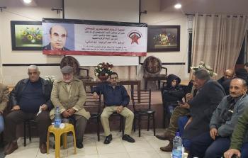 الديمقراطية تقيم مجلس عزاء في البيرة للقيادي الراحل خالد عبد الرحيم