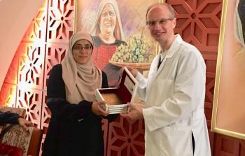 المؤتمر الشعبي يكرم المرابطة المقدسية خديجة خويص في الأردن