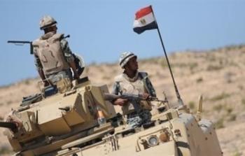 الجيش المصري يعلن حصيلة اليوم الـ11 من عملية