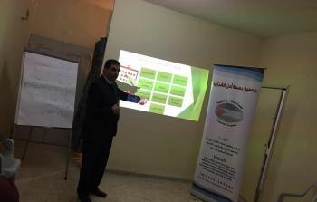 محافظة الخليل تعقد ورشة عمل تدريبية للخريجين الجدد بالتنسيق مع جمعية بصمة امل