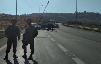 صور : جيش الاحتلال يقيم موقع عسكري جديد بين نابلس وجنين بالضفة الغربية