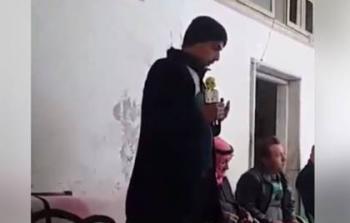 حدث في سوريا .. وقف ينعى شقيقه الشهيد فوافته المنية