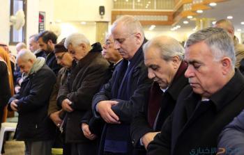 الحمد الله يشارك في مراسم تشييع الفقيد الشكعة(