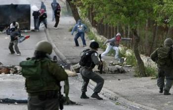 مواجهات مع جنود الاحتلال الإسرائيلي في مدينة طولكرم