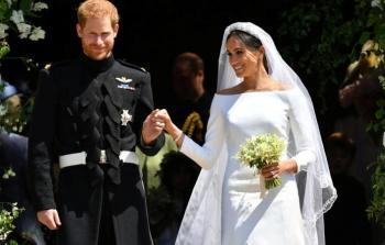 فيديو .. زغاريد في حفل زفاف الأمير هاري