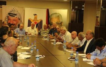 حركة فتح تلتقي القيادة السياسية الفلسطينية في لبنان