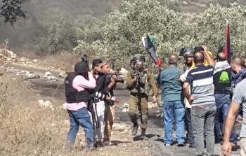 7 اصابات خلال مواجهات مع جيش الاحتلال في كفر قدوم