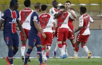 بالصور : باريس سانجرمان يسقط امام موناكو في مباراة مثيرة
