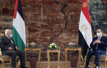 بدء لقاء قمة بين الرئيس عباس ونظيره المصري عبد الفتاح السيسي في القاهرة