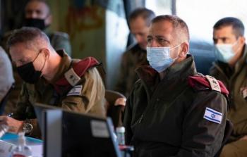 كوخافي يهدد إيران بعد زيارته اليوم للحدود السوريّة