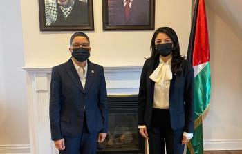 مفوضية فلسطين لدى كندا تستقبل المعزين بوفاة المناضل د. صائب عريقات