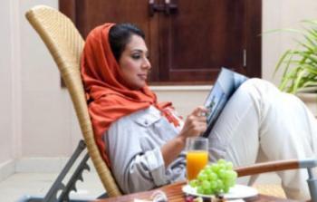سيدة عربية