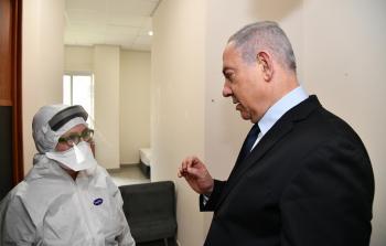 بنيامين نتنياهو يتلقى لقاح كورونا