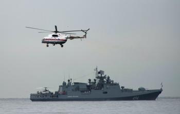سفينة حربية روسية تصل بورتسودان
