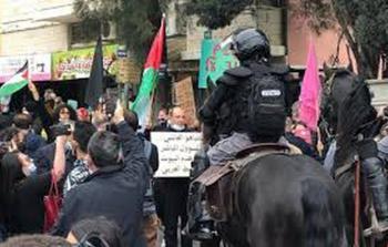 أم الفحم: استمرار التظاهرات ضد الجريمة وعنصرية شرطة الاحتلال