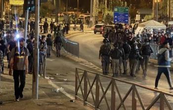 وقفة تضامنية مع القدس ويافا في شفا عمرو